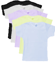 Wholesale blank baby t shirts